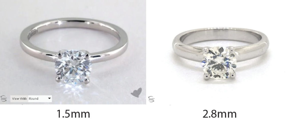 Solitaire Ring Comparison