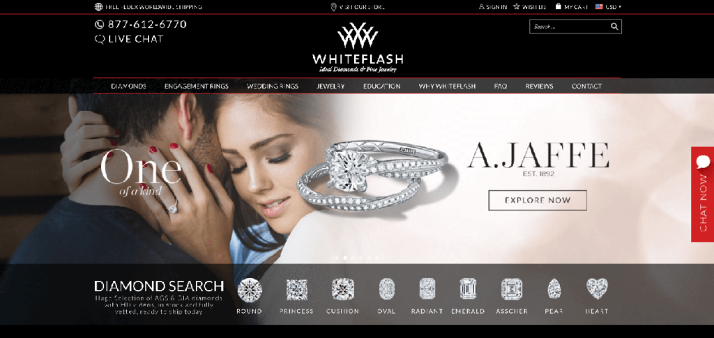 Whiteflash Diamond Online Shop