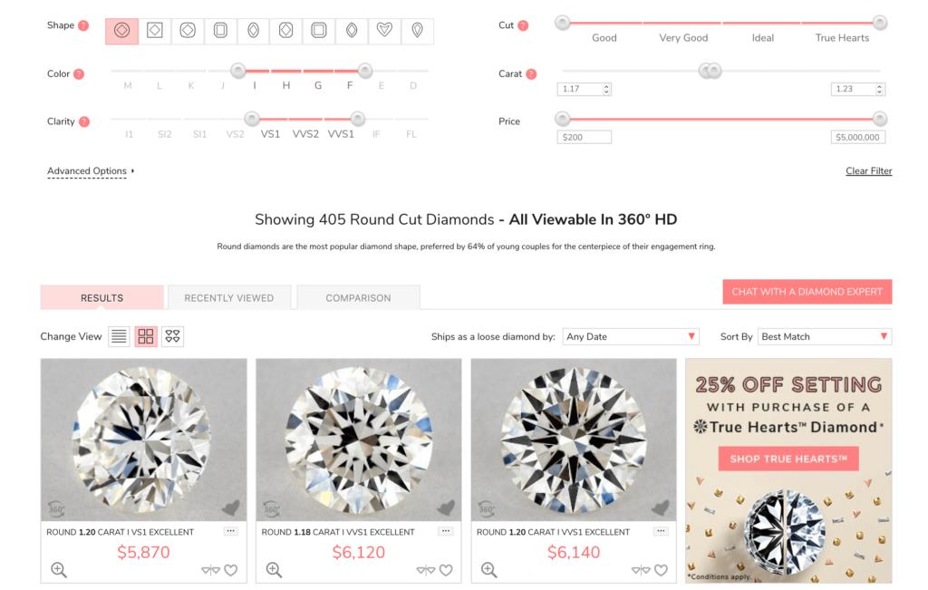 white sapphire vs diamond