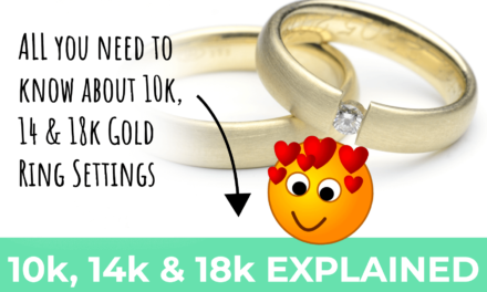 All You Need to Know About 10K, 14K and 18K Gold Wedding & Engagement Rings