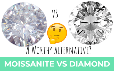 Moissanite vs Diamond – A Worthy Diamond Alternative?