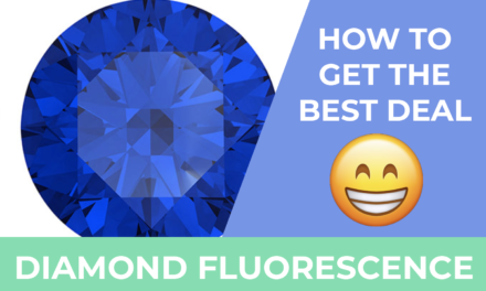 Diamond Fluorescence Good or Bad?