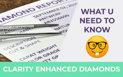 Are Clarity Enhanced Diamonds a Good Natural Diamond Alternative?