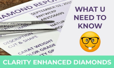 Are Clarity Enhanced Diamonds a Good Natural Diamond Alternative?