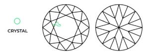 Crystal Inclusion Diamond