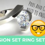 Tension Set Engagement Rings – Pros & Cons You Should Know