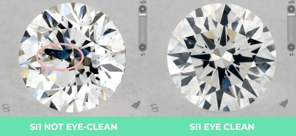 Clarity vs color