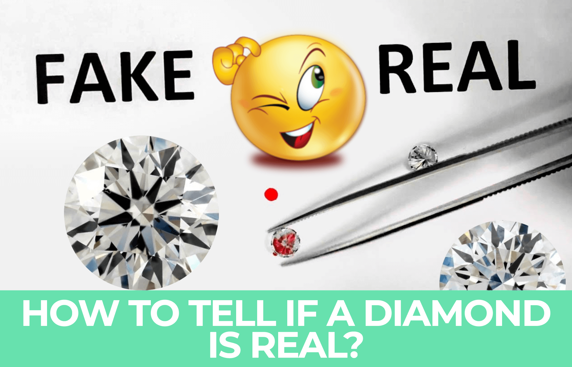 How To Tell If A Diamond Is Real Or A Fake Test At Home