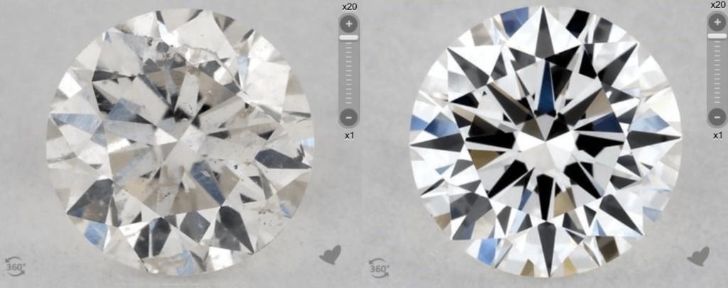 Cloudy Diamonds