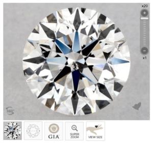 G colored diamond
