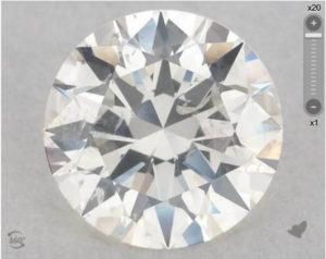 Cloudy diamond example