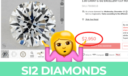 SI2 Diamonds | The Ultimate Buying Guide