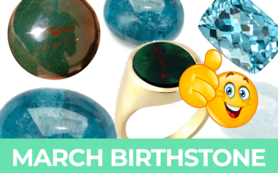 March Birthstones: Aquamarine & Bloodstone Ultimate Guide