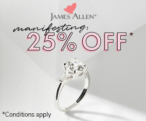 James Allen Mother's day discount