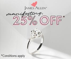 James Allen Mother's day discount